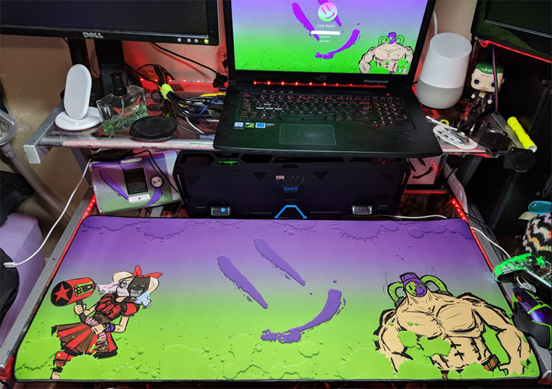 custom desk mouse pad with own image
