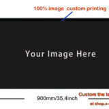 customized desk mouse pad with-size-900mmx400mm