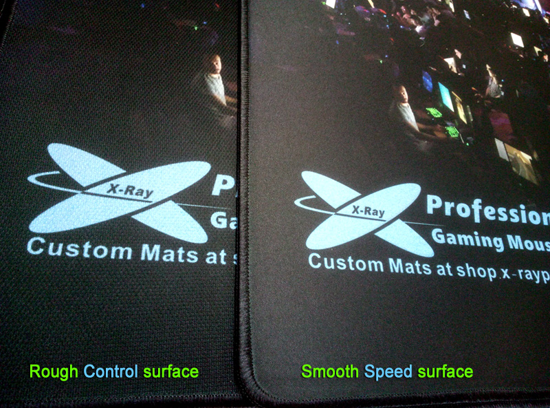 Rough and Smooth surface comparing