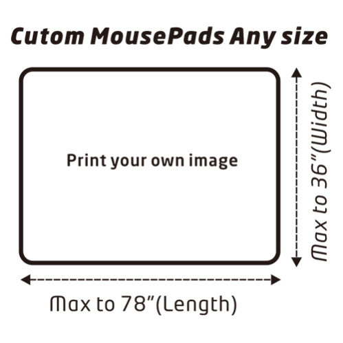 Custom mouse pad to meet your size
