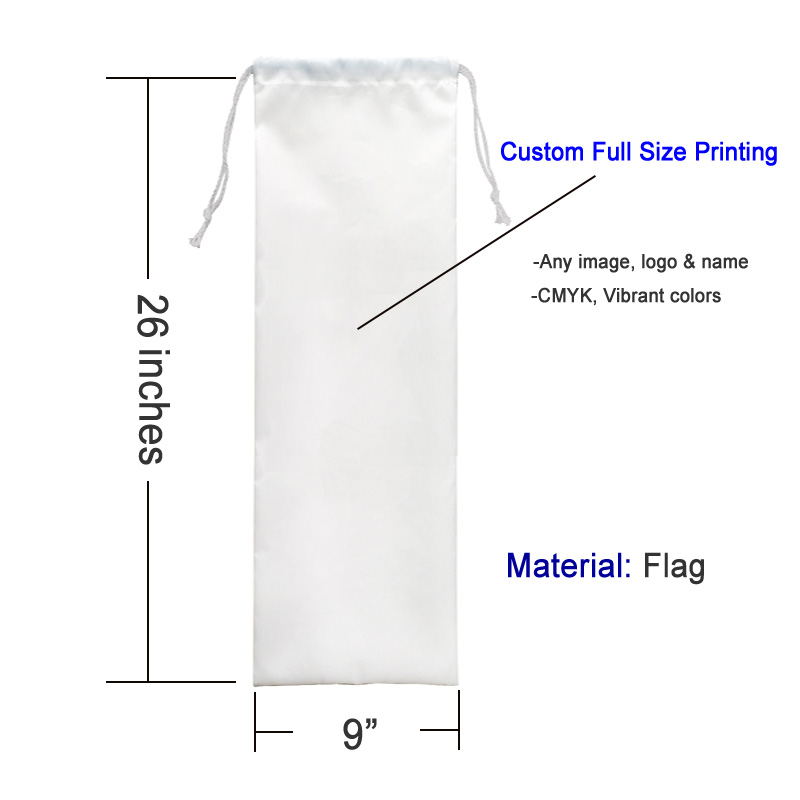 custom full size image printing 26 inches playmat bag