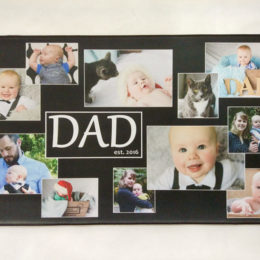 multi-photo mat customized printing -no watermark