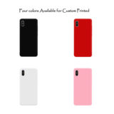 Custom printed Iphone cases colors