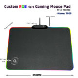 T800 custom RBG Gaming mouse pad