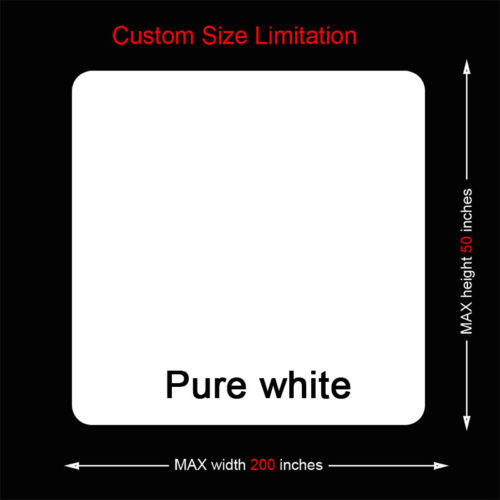 Custom size white mouse pads with Fabric and rubber materials