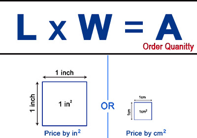 price formula of custom white mouse pad