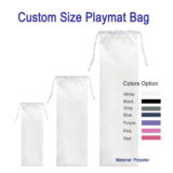 custom size playmat bag