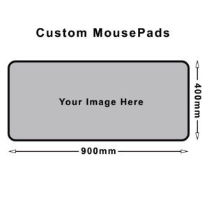 Custom desk mouse pads
