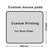 Custom mouse pads bulk 400x300mm