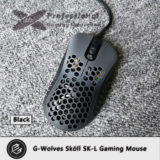 G-wolves Skoll black gaming mouse