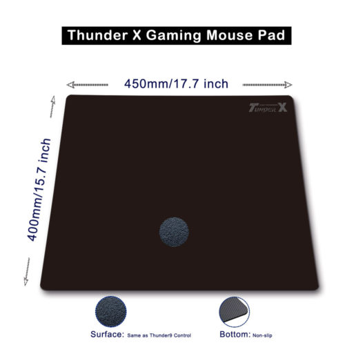 Thunder X Hard Gaming Mouse Pad