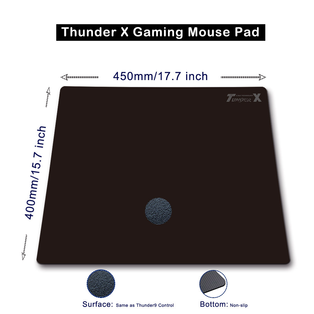 Thunder X hard plastic gaming mouse pad