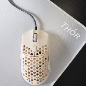 White Thor mouse pad from reddit review