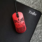 red hati ultra-light gaming mouse