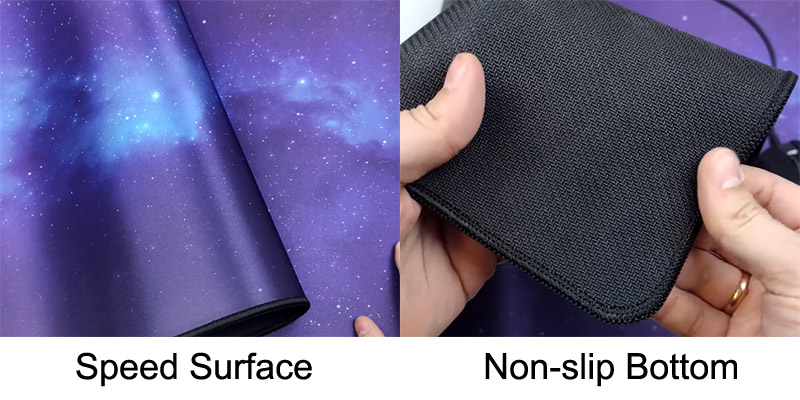 Galaxy Thor surface and bottom
