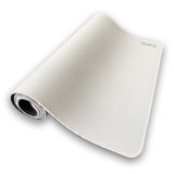 White Equate gaming mouse pad