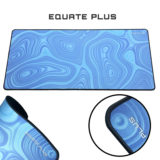 Equate plus Blue strata mouse pad